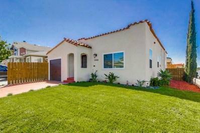 4488 50th Street, San Diego, CA 92115 - MLS#: 190014729