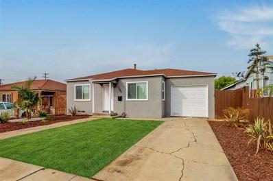 1040 Jefferson Ave, Chula Vista, CA 91911 - MLS#: 190015832