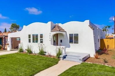 3544 Felton St, San Diego, CA 92104 - #: 190021921