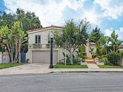 4740 Norma Drive, San Diego, CA 92115 - MLS#: 190023396