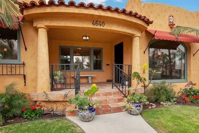 4640 W Talmadge Drive, San Diego, CA 92116 - #: 190025399