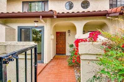 4155 Porte De Merano UNIT 121, San Diego, CA 92122 - #: 190026480