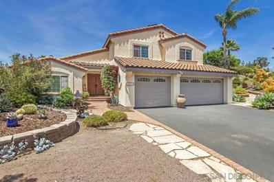 3551 Monte Real, Escondido, CA 92029 - MLS#: 190026822