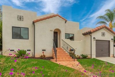 1327 33rd St., San Diego, CA 92102 - #: 190028046