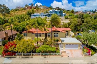 6674 Hillgrove Drive, San Diego, CA 92120 - MLS#: 190028148
