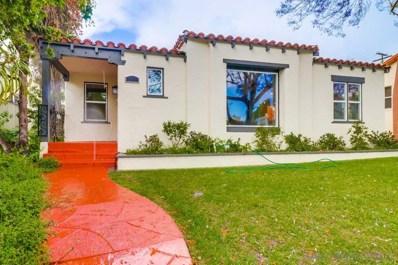 3464 Cooper St, San Diego, CA 92104 - #: 190028221