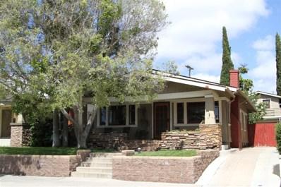 3757 Herbert, San Diego, CA 92103 - #: 190028994