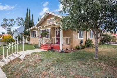 1958 Edgemont St, San Diego, CA 92102 - #: 190030926