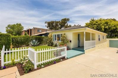 4691 51St St, San Diego, CA 92115 - #: 190032541