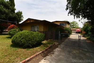 455 Filbert St, El Cajon, CA 92020 - #: 190032955