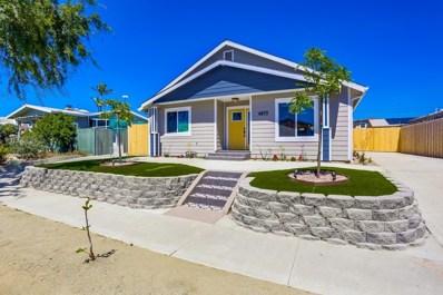 4853 33Rd St, San Diego, CA 92116 - #: 190035706