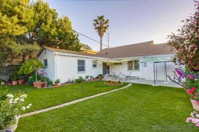 4755 33rd Street, San Diego, CA 92116 - #: 190037927