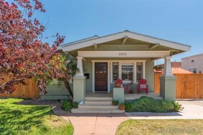 3015 Kalmia Street, San Diego, CA 92104 - #: 190038146