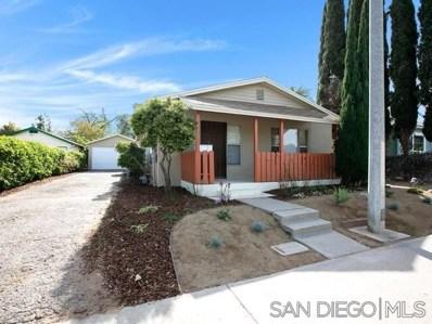 531 Avocado Ave, El Cajon, CA 92020 - #: 190039366