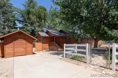 3055 Pheasant Drive, Julian, CA 92036 - #: 190043184