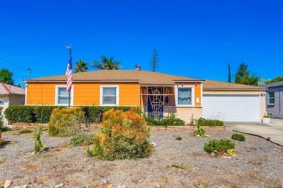 7262 Blackton Dr, La Mesa, CA 91941 - #: 190044954