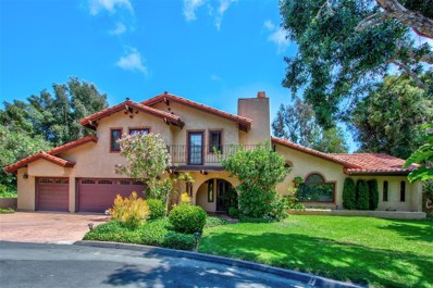 4805 Rancho Viejo Dr, Del Mar, CA 92014 - MLS#: 190044975