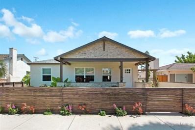 1067 Oliver Avenue, San Diego, CA 92109 - #: 190045407