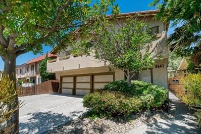 4541 Utah St UNIT 4, San Diego, CA 92116 - #: 190045503