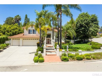 1901 Continental Lane, Escondido, CA 92029 - MLS#: 190045713