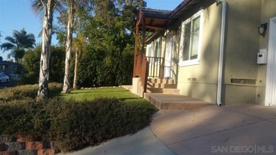 4309 Harbinson Ave, La Mesa, CA 91942 - #: 190046245
