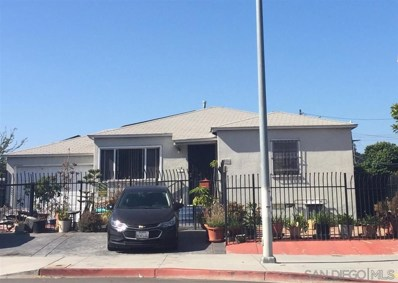3996 National Ave, San Diego, CA 92113 - MLS#: 190049200