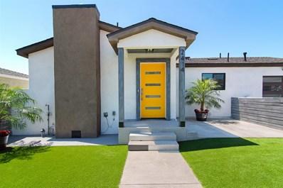 2414 Montclair St, San Diego, CA 92104 - #: 190050448