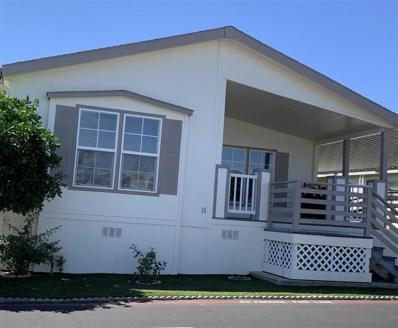 1401 El Norte Pkwy UNIT SPC 18, San Marcos, CA 92069 - MLS#: 190052268