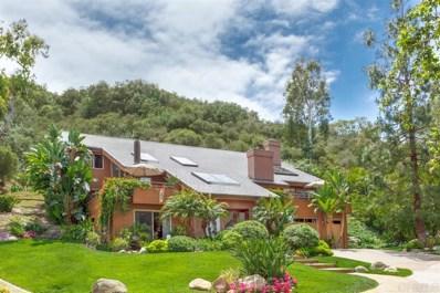 1405 Rancho Serena, Rancho Santa Fe, CA 92067 - MLS#: 190055854