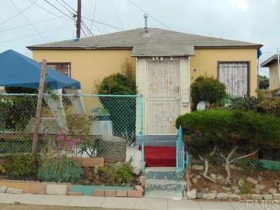 829 S 38th Street, San Diego, CA 92113 - MLS#: 190058113