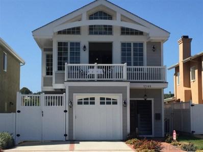 1148 Concord St, San Diego, CA 92106 - #: 190059439