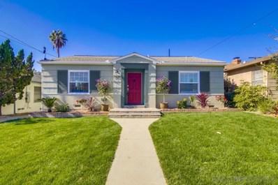 2638 Teresita St, San Diego, CA 92104 - #: 190060741