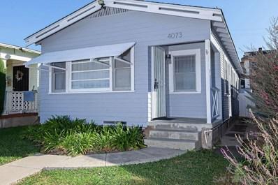 4073 34th Street, San Diego, CA 92104 - #: 190060911