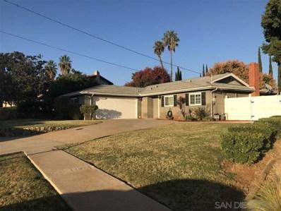 1392 N Elm Street, Escondido, CA 92026 - MLS#: 190062018