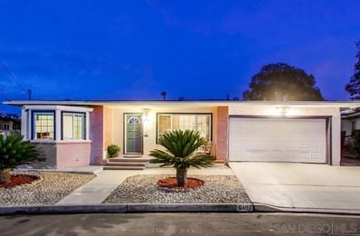 6496 Cleo St, San Diego, CA 92115 - #: 190063927