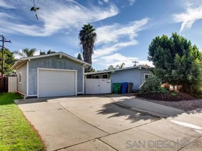 501 Lindsay St., El Cajon, CA 92020 - #: 190064794