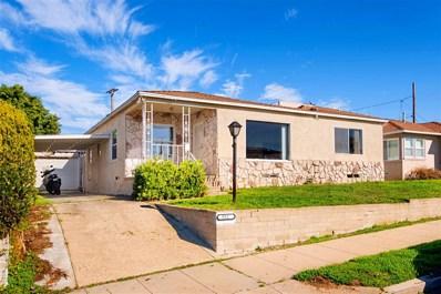 5521 Las Alturas Ter, San Diego, CA 92114 - #: 200001459