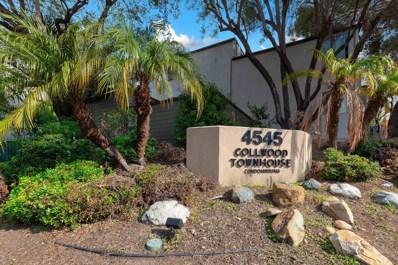 4545 Collwood Blvd UNIT 55, San Diego, CA 92115 - #: 200002699