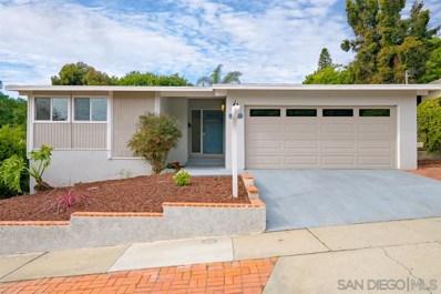 5014 Chaparral Way, San Diego, CA 92115 - #: 200003609