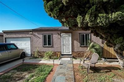 1118 S 37th, San Diego, CA 92113 - MLS#: 200007211