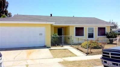 7501 Prairie Mound Way, San Diego, CA 92139 - #: 200010117