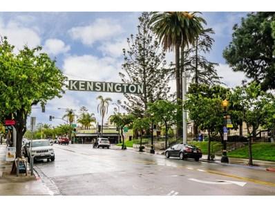 4468 Marlborough Ave UNIT 8, San Diego, CA 92116 - #: 200013566