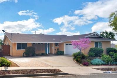 6307 Balsam Lake Ave, San Diego, CA 92119 - #: 200014284