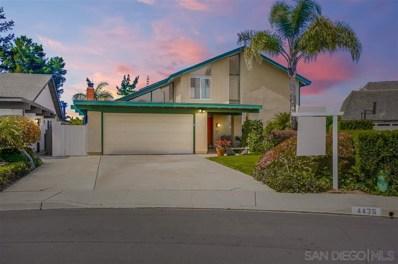 4436 Camrose Ave, San Diego, CA 92122 - #: 200014520