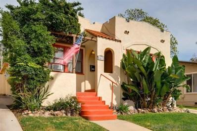 4415 Arizona St, San Diego, CA 92116 - #: 200014681