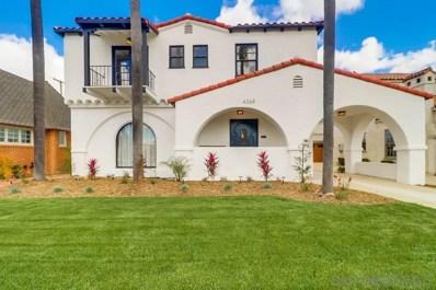 4368 Adams Avenue, San Diego, CA 92116 - #: 200014801