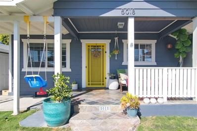 5018 Monroe Ave., San Diego, CA 92115 - MLS#: 200015435