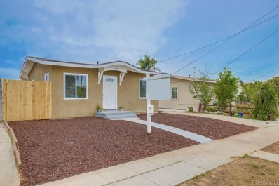 4705 Landis St, San Diego, CA 92105 - #: 200015547