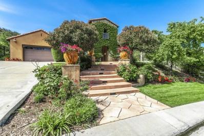 1660 Sycamore Canyon Drive, Westlake Village, CA 91361 - #: 219007295