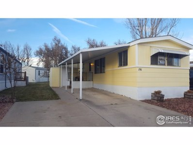 1166 Madison Avenue UNIT #191, Loveland, CO 80537 - #: 4134
